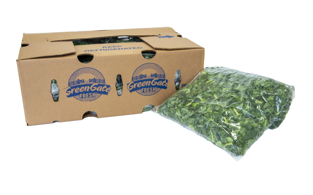 Chopped Kale Now Available from GreenGate Fresh