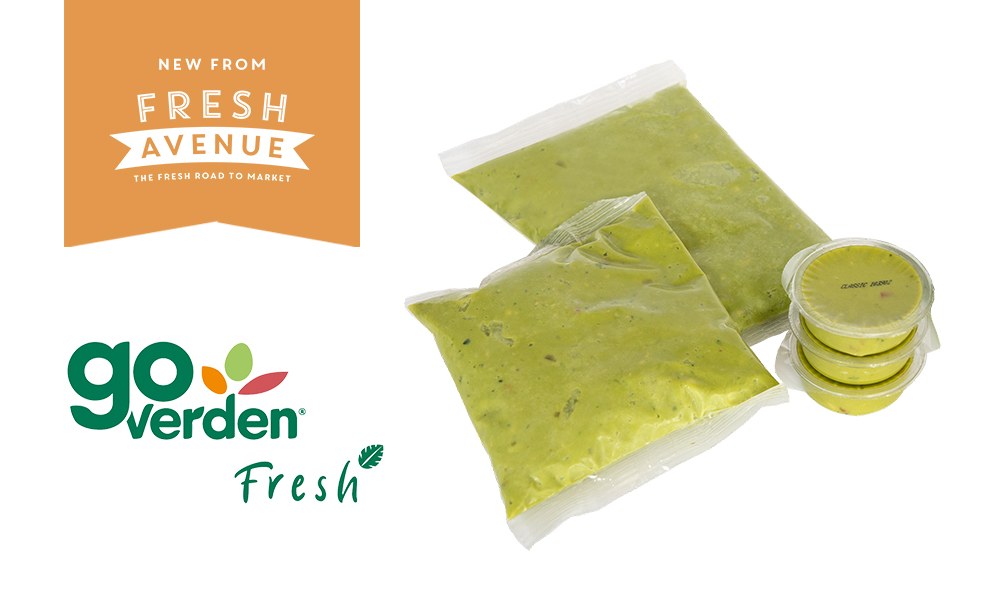 Now Available from Fresh Avenue: GoVerden Fresh Guacamole and Avocado Products